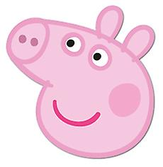 Peppa Pig Card Face Mask