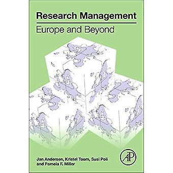 Gestión de la investigación: Europa y más allá