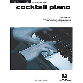 Brent Edstrom: Cocktail Piano - Jazz Piano Solos Series Volume 31