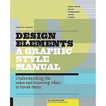 Designelement, 2nd Edition: Förstå reglerna och veta när man ska bryta dem - uppdaterad och utvidgad