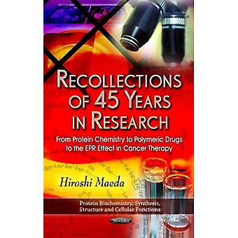 Recollections of 45 Years in Research