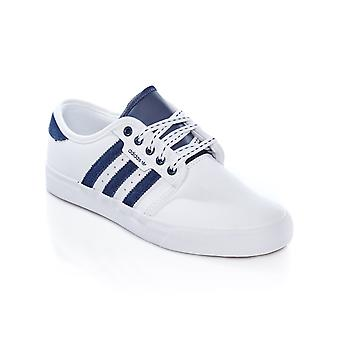 Adidas Chaussures White-Collegiate Navy-Gum4 Seeley chaussure