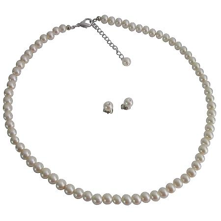 Gorgeous Fine Jewelry Ivory Pearls Bridesmaid Jewelry Party Gifts