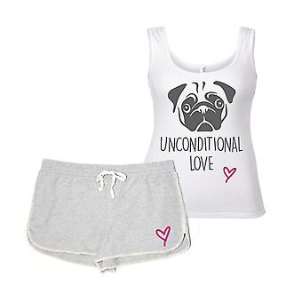 Pug Unconditional Love Pyjama Set
