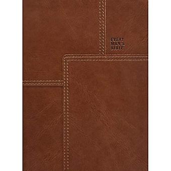 Every Man's Bible NLT, Deluxe Messenger Edition