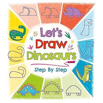 Nous allons dessiner des dinosaures étape par étape