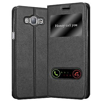 Cadorabo sleeve for Samsung Galaxy A8 2015 - mobile case with stand function and 2 Windows - case cover sleeve pouch bag book Klapp style