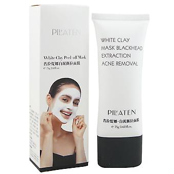 Pilaten peel off face mask with white clay 75 g white Clay Mask