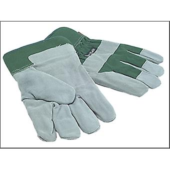 Town and Country TGL412 Mens Fleece Lined Leather Palm Gloves