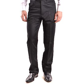 Gianfranco Ferré Black Cotton Pants