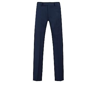 Dobell Mens dunkel blauen Anzug Hose Slim Fit