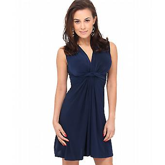 KRISP Womens Knot Front Dress