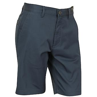 RVCA VA Mens Sport Weekend esticar Chino Casual Shorts - Midnight Blue