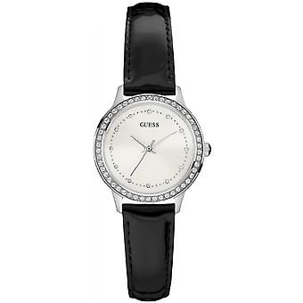 Watch Guess Chelsea W0648L7 - leather black woman