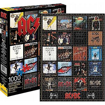 AC/DC Discography 1000 piece jigsaw puzzle  690mm x 510mm (nm)