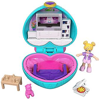 Polly Pocket GCN07 Tiny Pocket Places Polly Sleepover