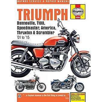 Triumph Bonneville - T100 - Speedmaster - America - Thruxton & Scramb