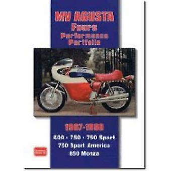 MV Agusta Fours Performance Portfolio 1967-1980 by R. M. Clarke - 978