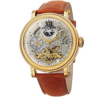 Akribos XXIV Men's Quartz Matte Dail  Bracelet Watch AK968YGTN