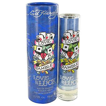 Love & Luck by Christian Audigier Eau De Toilette Spray 1.7 oz / 50 ml (Men)