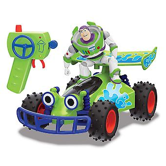 Disney Toy Story 4 RC Buggy with Buzz Lightyear Remote Control Toy