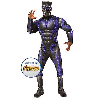 Adult Black Panther Deluxe Costume