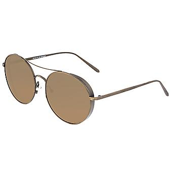 Breed Barlow TitaniumPolarized Sunglasses - Bronze/Brown