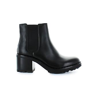 ASH XAO BLACK LEATHER BOOTIE
