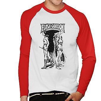 Flash Gordon und Dale zurück zurück Männer's Baseball langärmelige T-Shirt