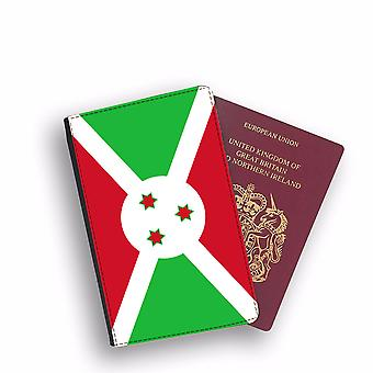 BURUNDI Flag Passport Holder Style Case Cover Protective Wallet Flags design