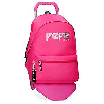 Pepe Jeans Uma Backpack - 42 cm - 22.79 liters - Pink 63923N2