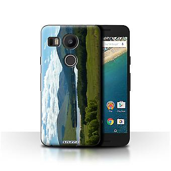 STUFF4 Case/Cover for LG Nexus 5X/Mountains/Loch/Scottish Landscape