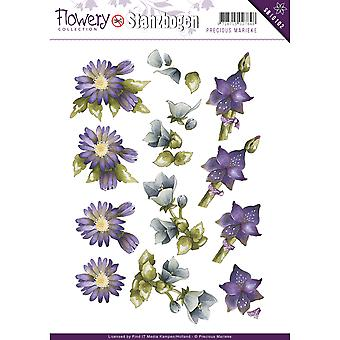 Find It Trading Precious Marieke Punchout Sheet-Flowery SB10102