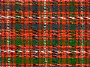 MacIntyre Red, Modern - Pure Wool Tartan