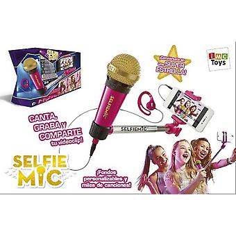 IMC Toys Mic selfie Rosa (Toys , Educative And Creative , Music , Instruments)