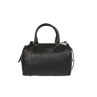 Trussardi woman's handbag, Handbag 100% genuine leather and smooth, Dollar calf-32x20x20 Cm