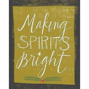 Spirits Bright Poster Print by Katie Doucette