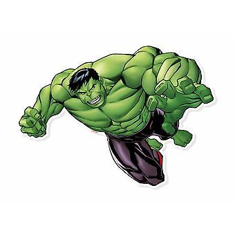 Hulk Smash væg kunst 3D effekt officielle Marvel pap påklædningsdukke vægudsmykning