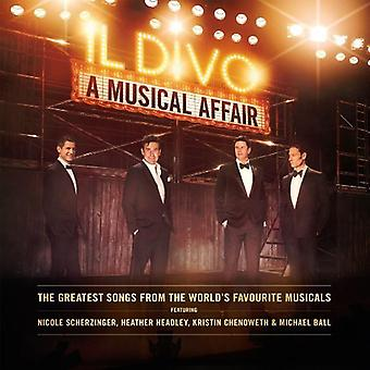 Il Divo - Musical-sagen [CD] USA importerer