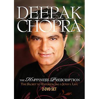 Deepak Chopra - lykke recept [DVD] USA import