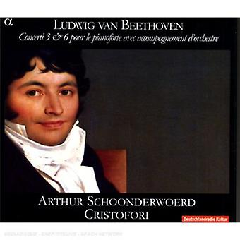 Larsen Beethoven - Beethoven: Klaver koncerter nr 3 & 6 [CD] USA import