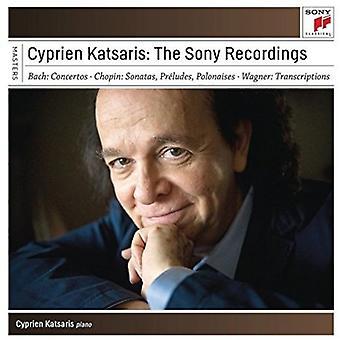 Cyprien Katsaris - Cyprien Katsaris-the Sony optagelser [CD] USA importerer