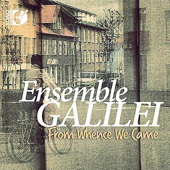 Ensemble Galilei - From Whence We Came [CD] USA import