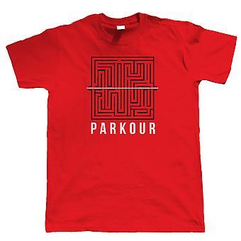 Parkour labirinto Mens T-Shirt
