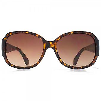 Glare Eyewear Taylor Square Sunglasses In Tortoiseshell