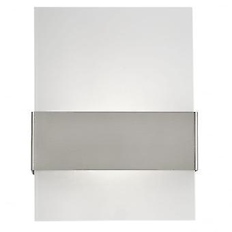 Eglo Nadela 2 Light Outdoor LED Wall Light Stainless Steel IP44
