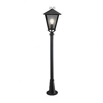 Lanterna de Konstsmide Raimundo preto com preto Persius polo