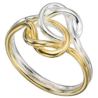 925 Silver Gold Plated Fashionable Ring