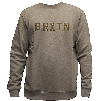 Brixton Murray Sweatshirt grå
