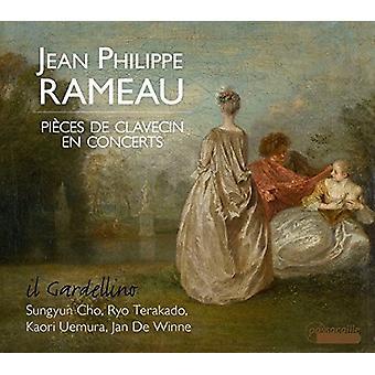 Rameau / Il Gardellino - Jean Philippe Rameau: stykker De Clavecin da [CD] USA import